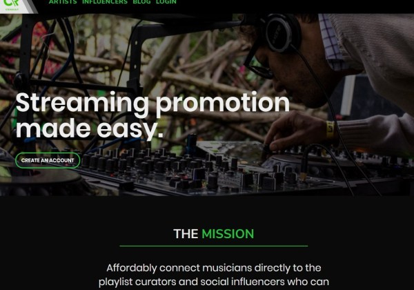Crosshair Music - Playlist Pitching and Music Promotion Service