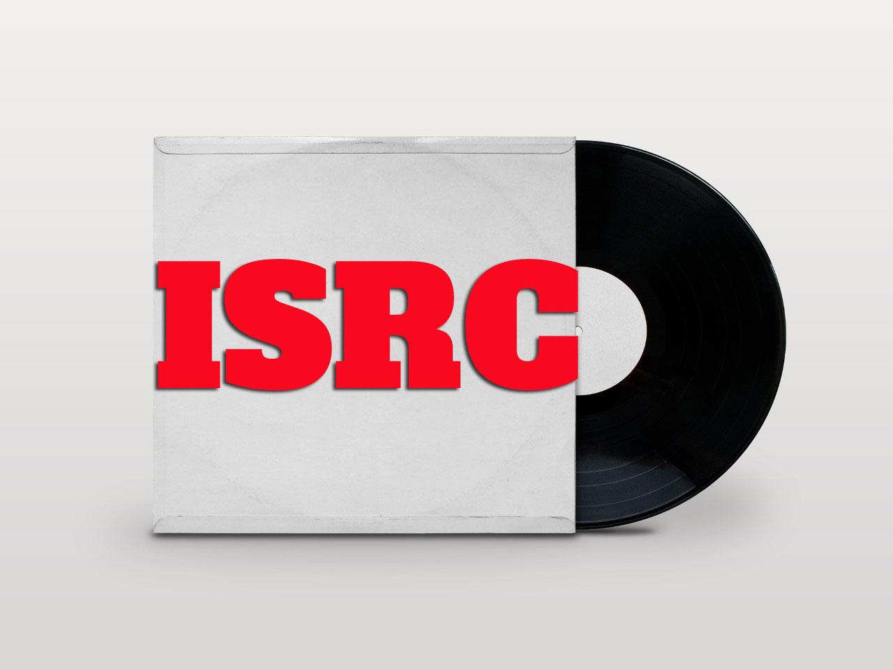 ISRC international standard recording code