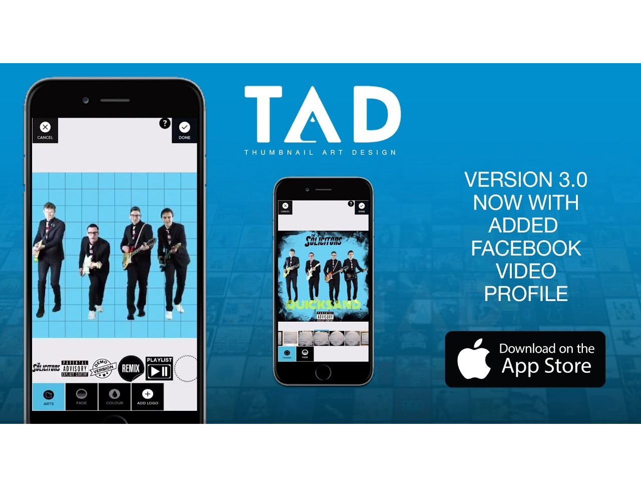TAD Thumbnail Art Design iOS App
