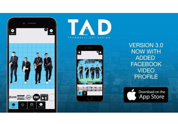 TAD Thumbnail Art Design iOS App