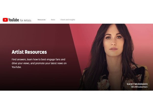 YouTube for Artists - Artist Resources
