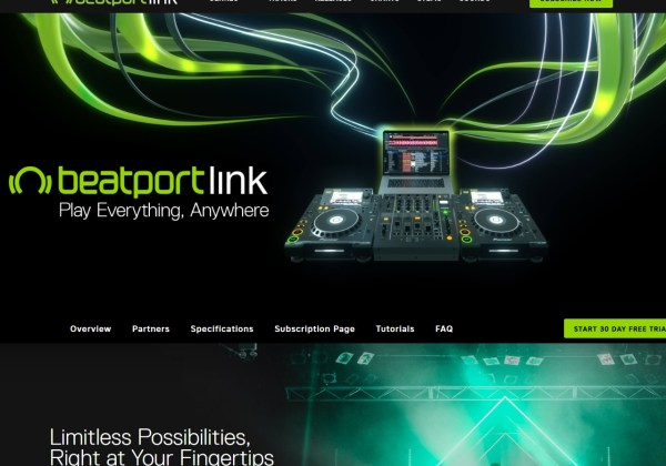 beatport link dj streaming music service