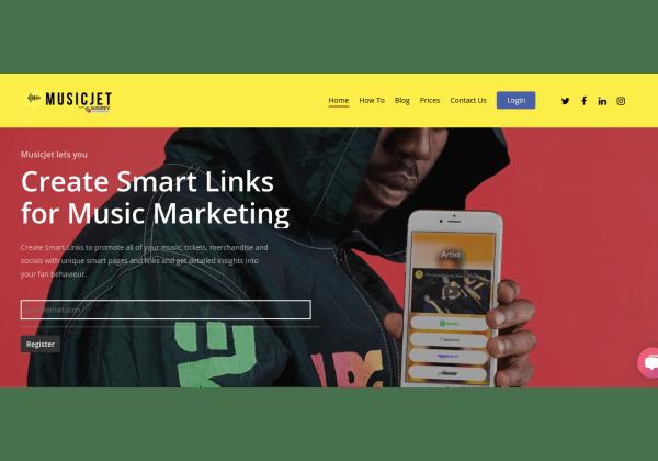 musicjet smart links