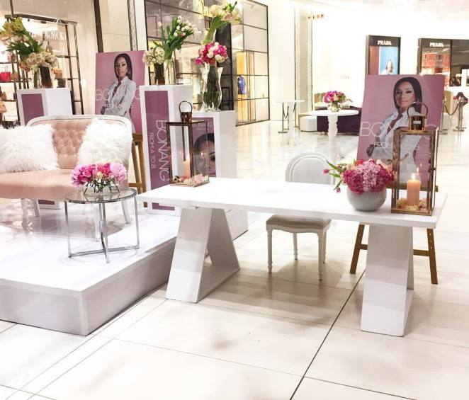 Bonang Matheba's Book Launch