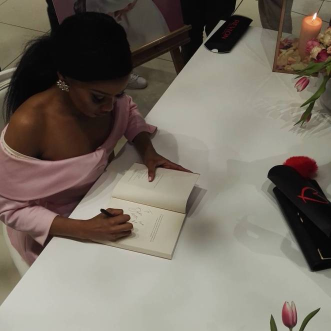 Bonang Matheba's Book Launch