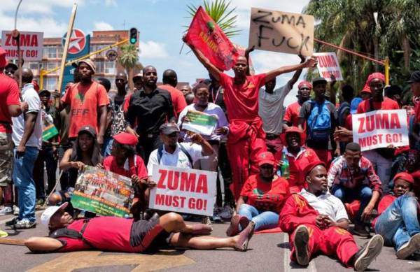 EFF Prepares Motion Of No Confidence For Zuma