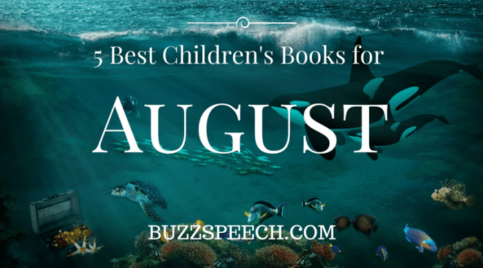 5 best children's books for august