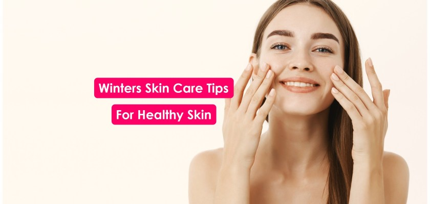 Winter SKin care tips and products used for dry skin