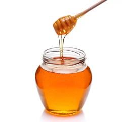 Honey to remove mole