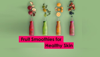 Fruit smoothies for healthy skin