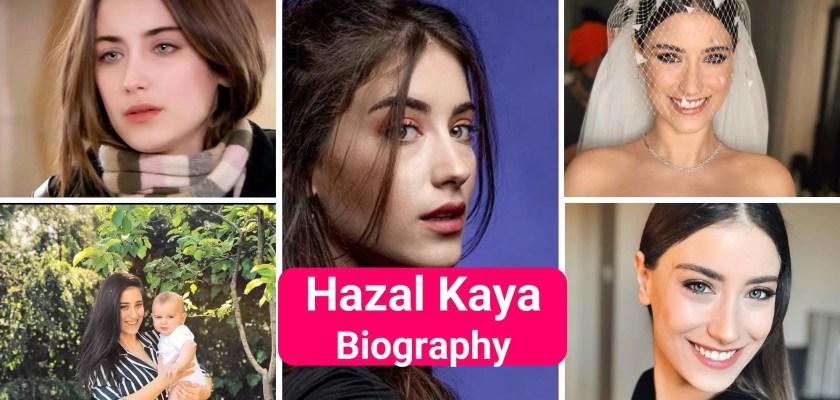 Hazal Kaya biography Beautiful Turkish Actress in Black dress