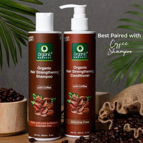 Organic Harvest Coffee Shampoo