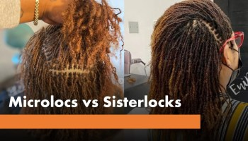 What are microlocs and sisterlocks, cost, pros, cons, difference
