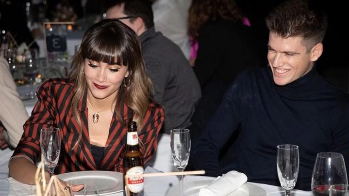 Miguel Bernardeau Photos with his Girlfriend Aitana Ocaña love pictures