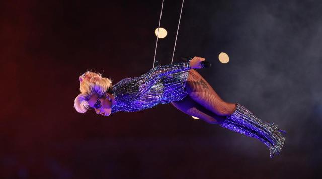 lady Gaga au super Bowl 2017