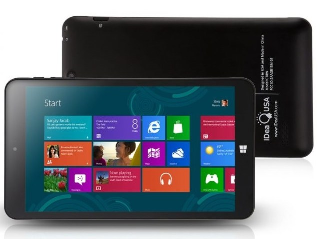 iDeaUSA® CT8 Windows Tablet