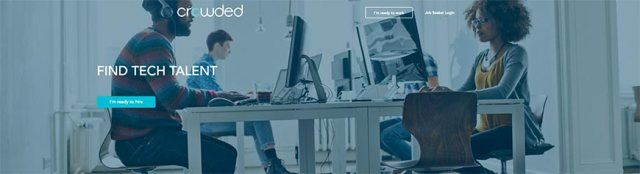 Sitio web freelance de CROWDED