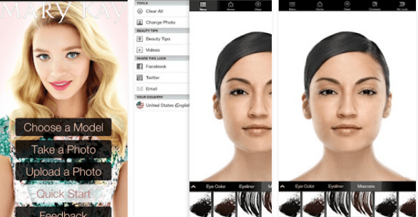 Mary Kay® Mobile Virtual Makeover