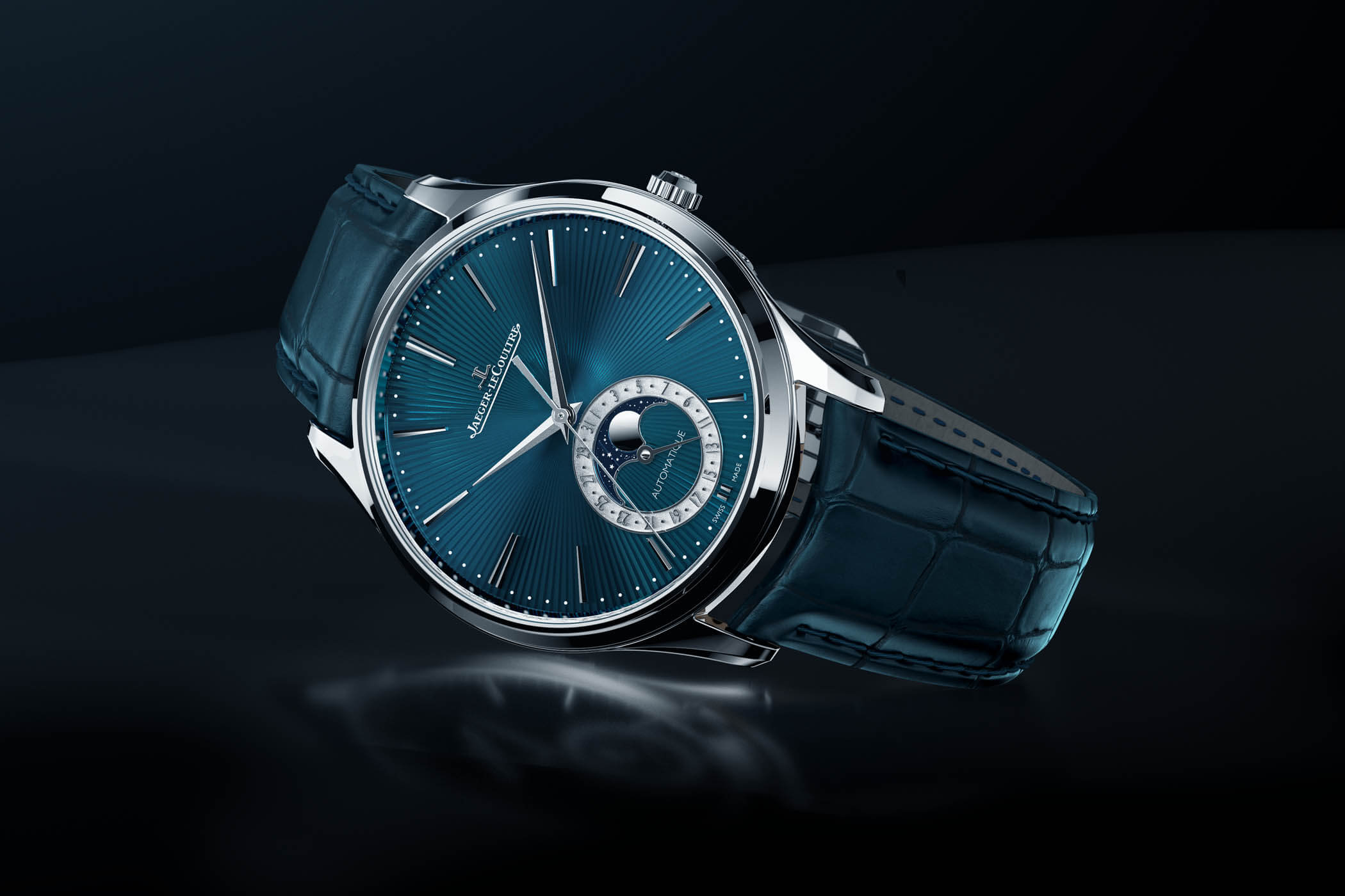 The Jaeger Le-Coultre Master Ultra Thin Moon Enamel