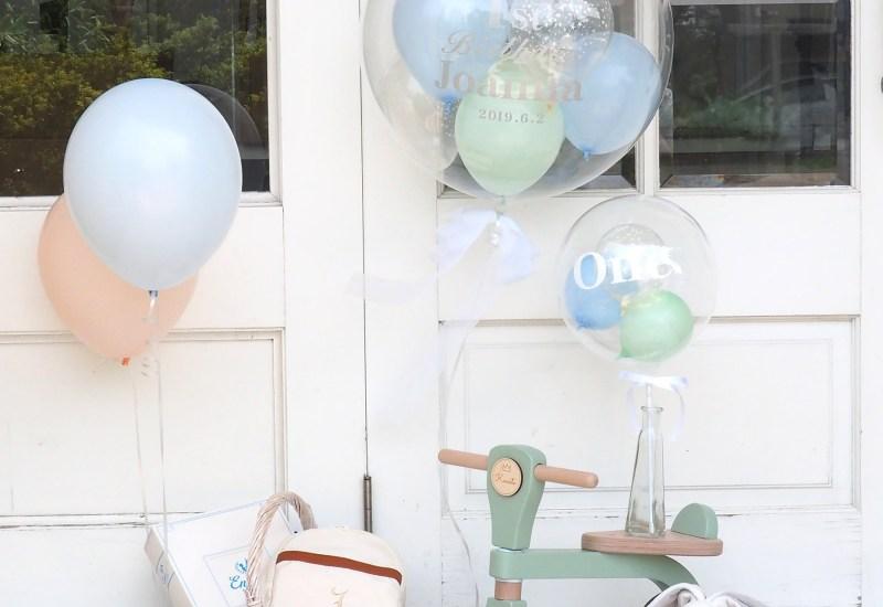 一歳の誕生日の飾り付けに!バルーンで豪華なおうちパーティー