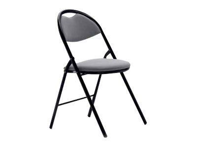 chaise pliante foldy gris