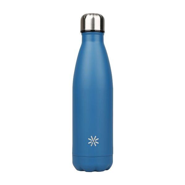 aqua intemporelle gourde bouteille isotherme 500 ml double paroi disponible dans differentes couleurs viquel