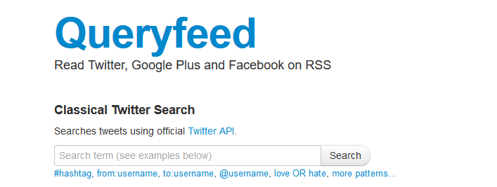 queryfeed