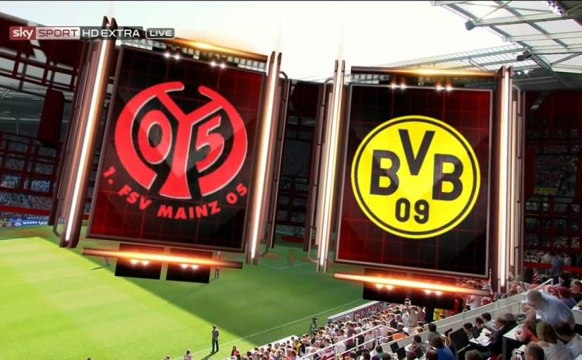 Borussia Dortmund @ Mainz 05
