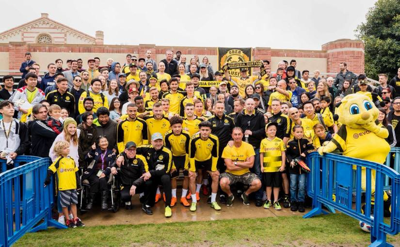 Training with BVB at UCLA