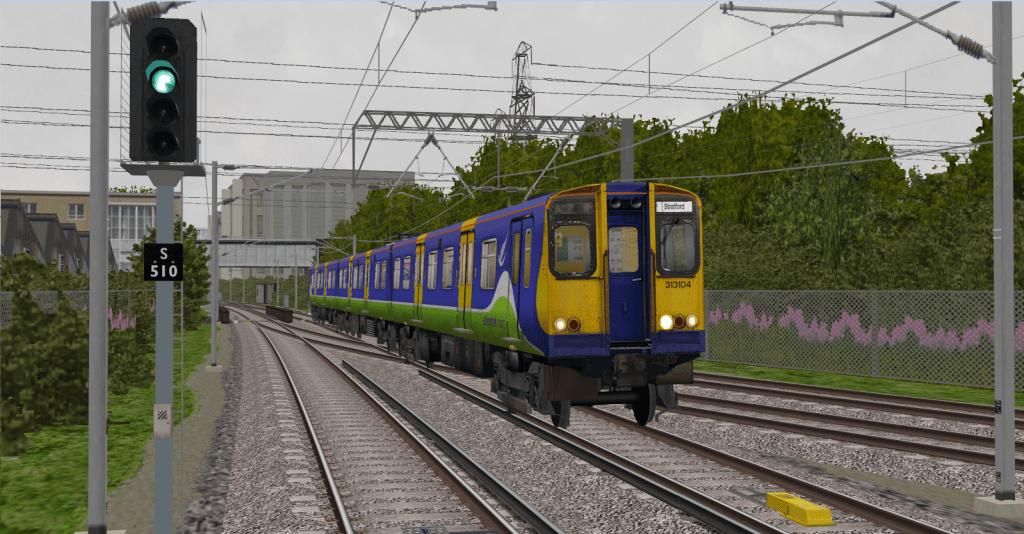Class 313 Near Stratford