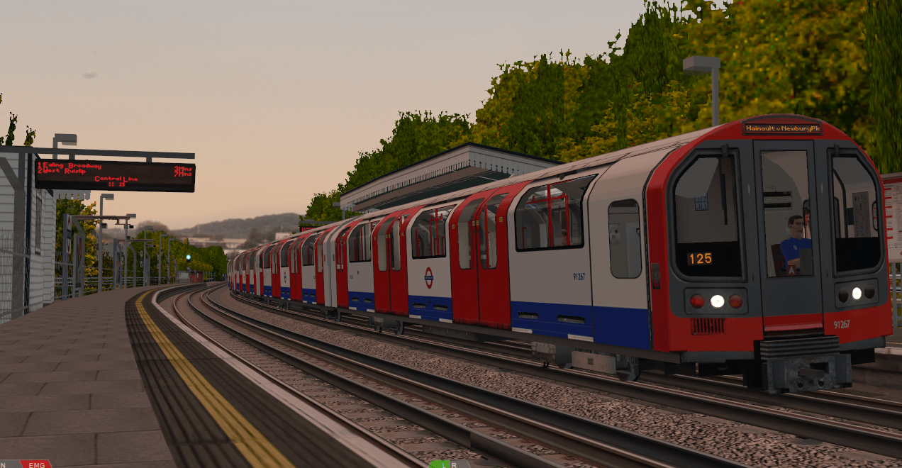 East Acton Sunset