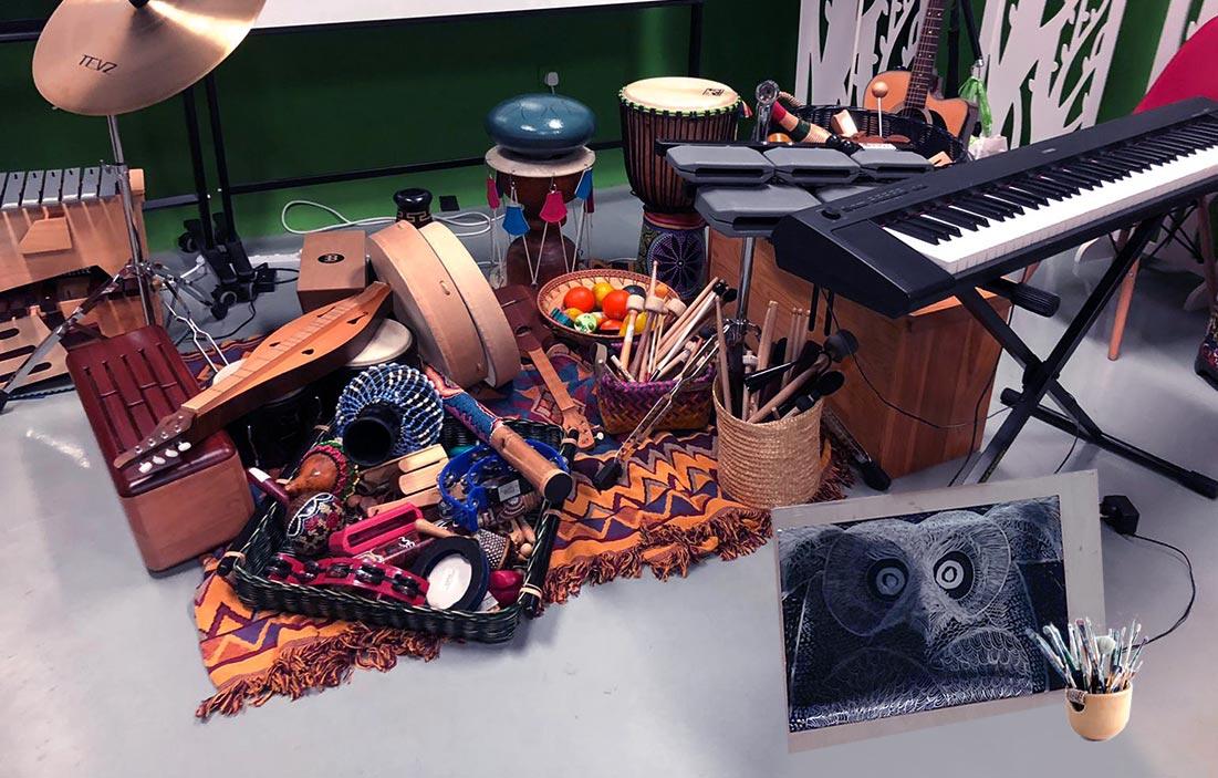 音樂及藝術治療