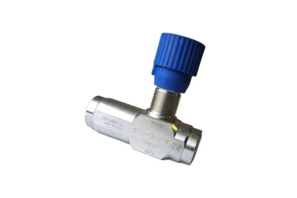 B.V. Hydraulika - Škrticí vysokotlaké ventily