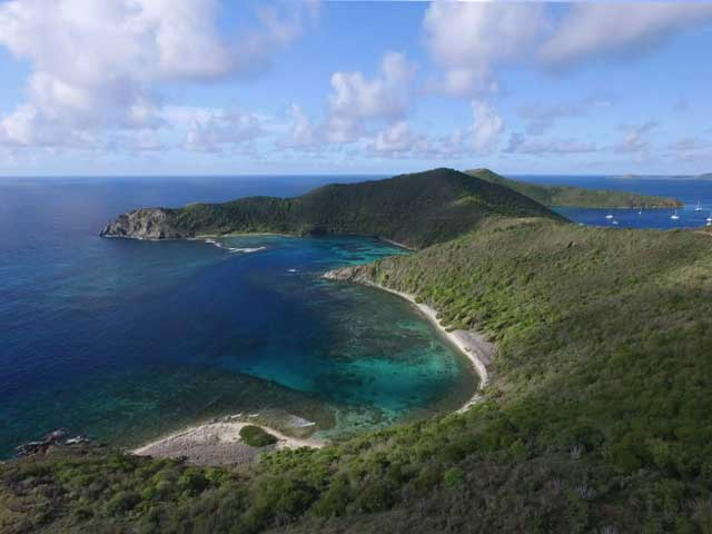 BVI Hiking, South Side of Norman Island