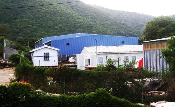 BiWater plant at Paraquita Bay, Tortola