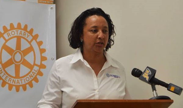 Pati Romney, chief executive officer at Platinum Services. Photo Credit:  Rotary Club of Road Town (edited)