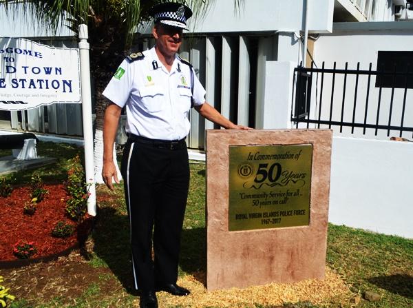 Commissioner of Police Michael Matthews