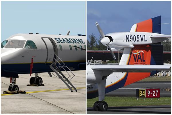 Seaborne, Vieques Air Link