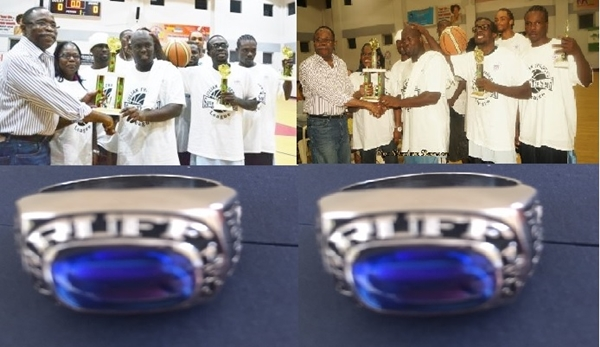 Ruff House, the first champions in the Hon Julian Fraser Save the Seed Basketball League will be awarded Rings in keeping with directors' promise.