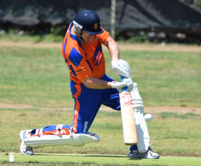 Sam Malpass scored 108 not out as the Vikings posted 288 against the BVI Youth team, who were then bowled out for 58.