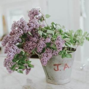 Zinc Floral Bucket