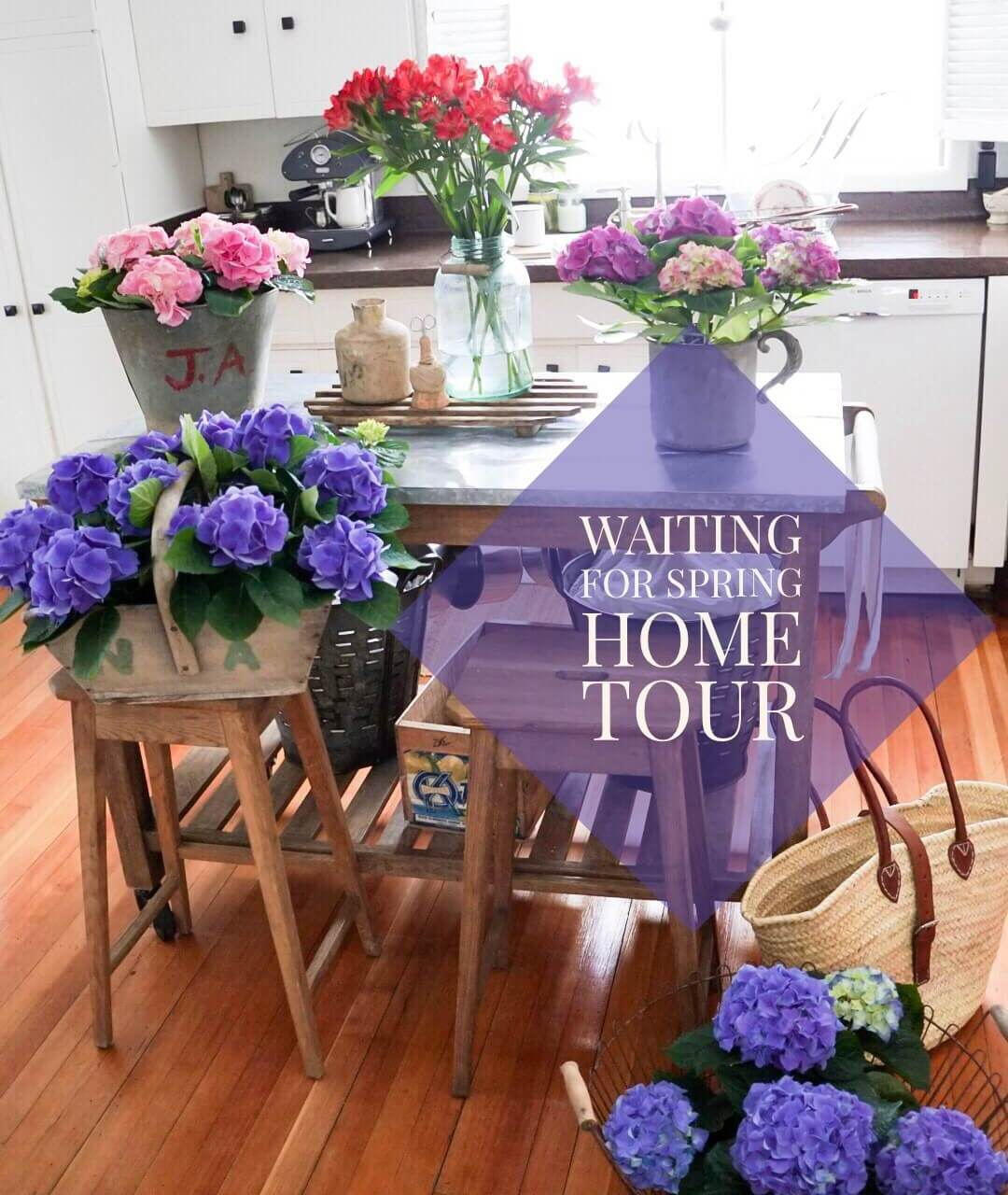 Waiting For Spring Home Tour