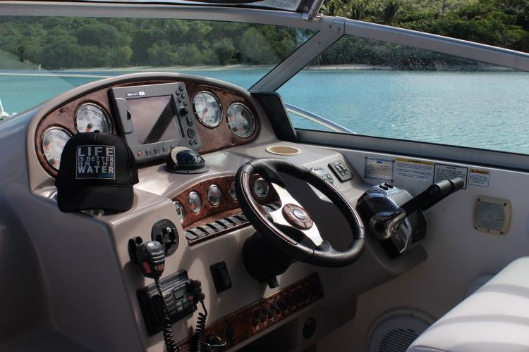 A Value Boat For The Bvi 36 Rinker 360 Fiesta Vee