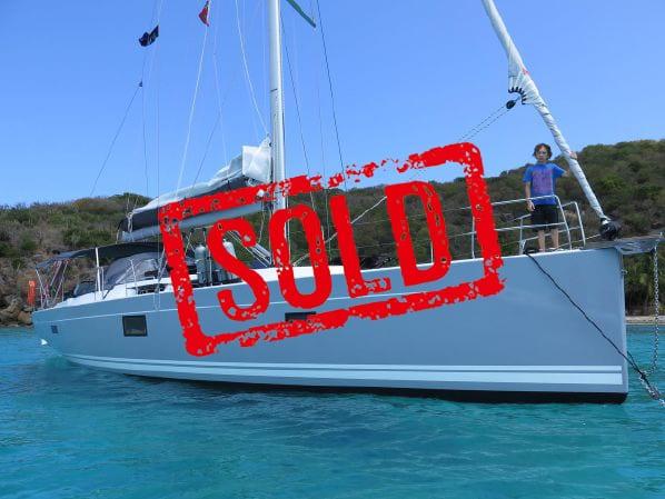hanse 455 sold