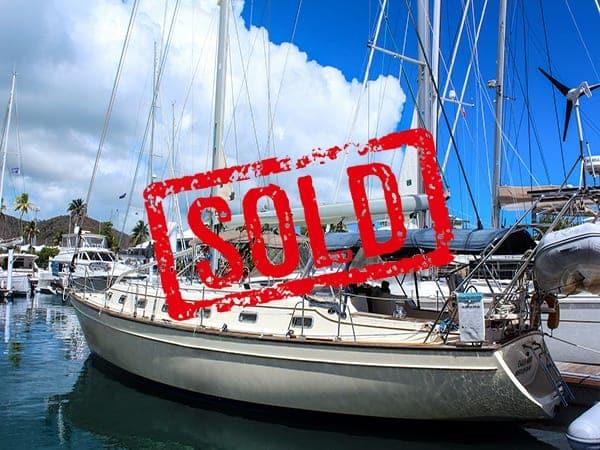 Island Packet 420 Cajun Moon sold