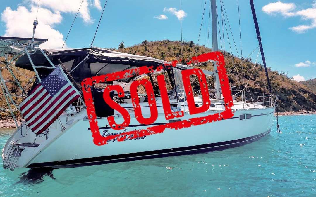 Beneteau oceanis 440 sold