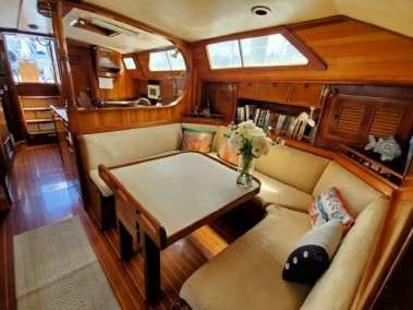 65' custom built steel cutter/cruiser for sale