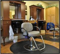 Beauty Salon | Courtyard Terrace | Nebraska Assisted Living