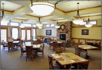 Courtyard Terrace Dining Room | Nebraska Assisted Living