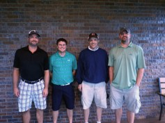 BVLH 12th Golf Tournament 1st Flight Winners